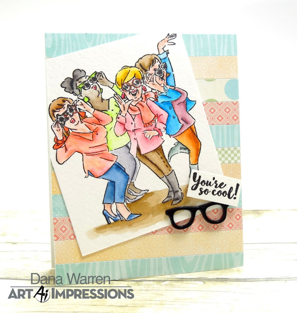 Dana Warren - Kraft Paper Stamps - Art Impressions