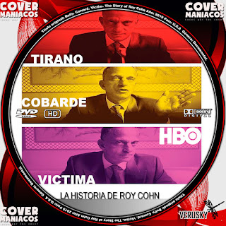 GALLETA TIRANO COBARDE VICTIMA LA HISTORIA DE ROY COHN - BULLY COWARD VICTIM THE STORY OF ROY COHN 2019[COVER DVD]