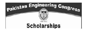Pakistan Engineering Congress PEC Scholarship  2021- Online Apply