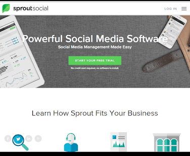 Sprout Social is the platform of choice for enterprise social media management