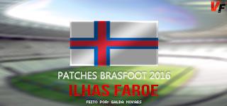 Patch Ilhas Faroé 22 Equipes - Brasfoot 2016
