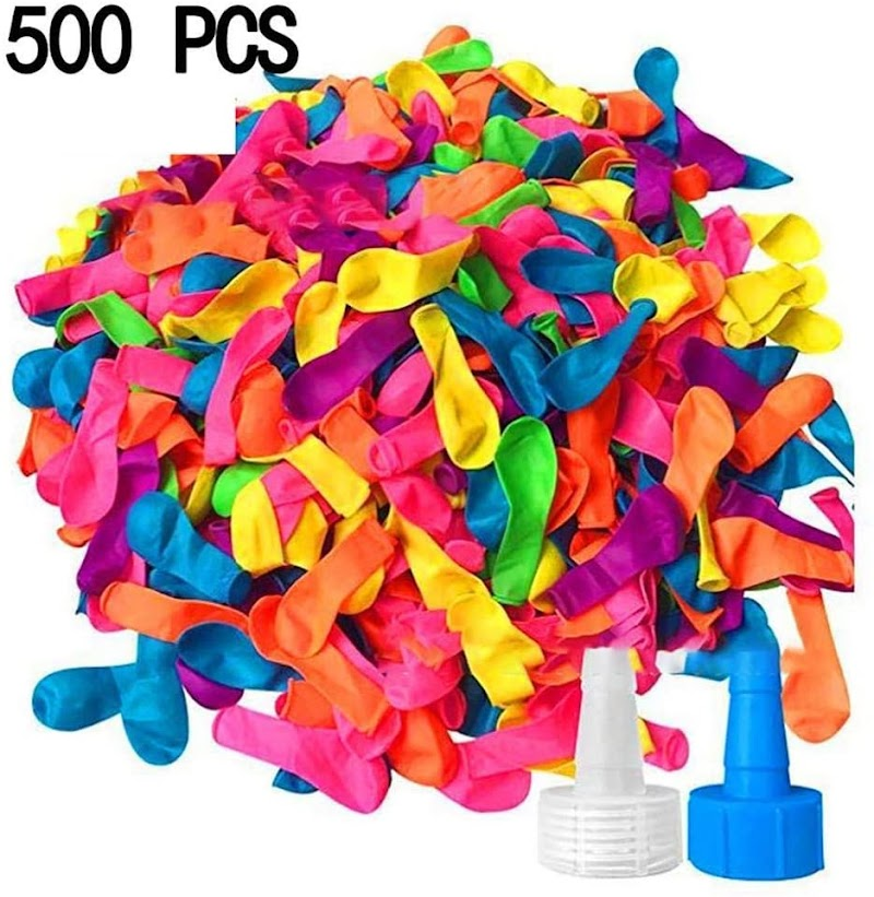 80%  off 500pcs New Kids Children Quick Water Injection Balloon Water Bomb Filled Balloon Set Balloons