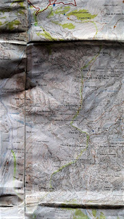 Mapa de Adrados 1:25000 Macizo central y Andara