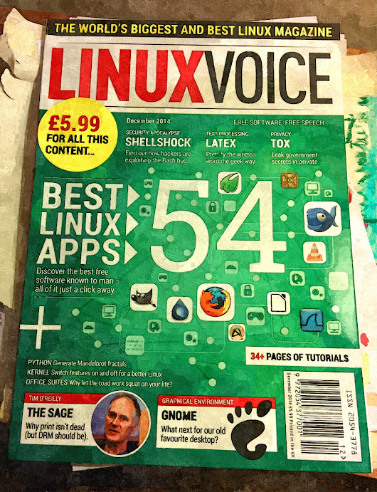 LinuxVoice Magazine