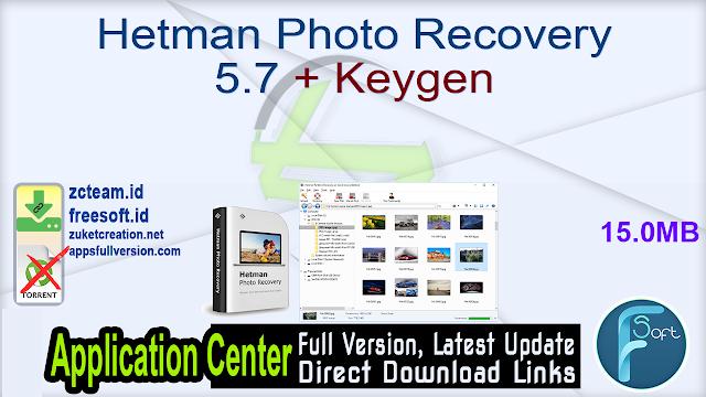 Hetman Photo Recovery 5.7 + Keygen_ ZcTeam.id