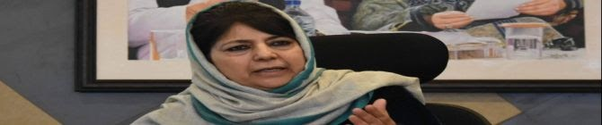 Mehbooba Mufti Faces Prospect of Treason Case After Advocating Talks With Pakistan