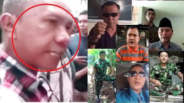VIDEO: TANTANGAN Sejumlah Orang Dan Anggota TNI Ladeni IWAN BOPENG Yang Ingin Potong Tentara