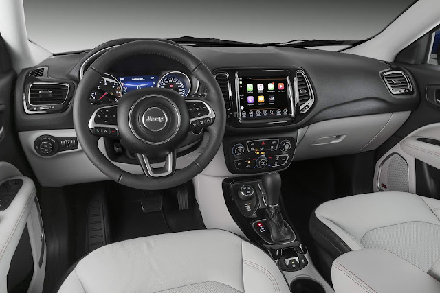 Jeep Compass 2018 - interior