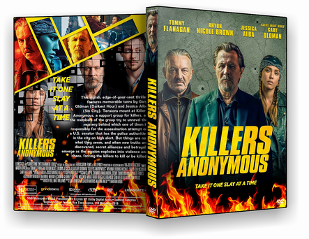 DVD Killers Anonymous 2019 - ISO