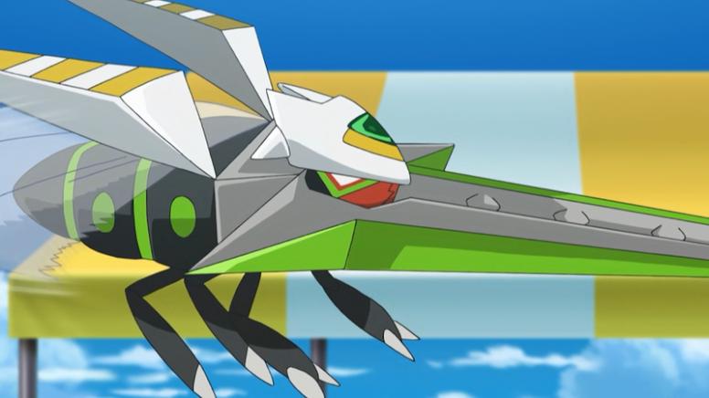 Vikavolt Shiny Anime Pokémon