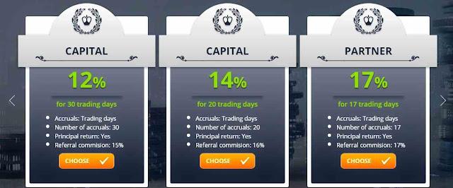 Yesss Capital - Vip инвестиционные планы