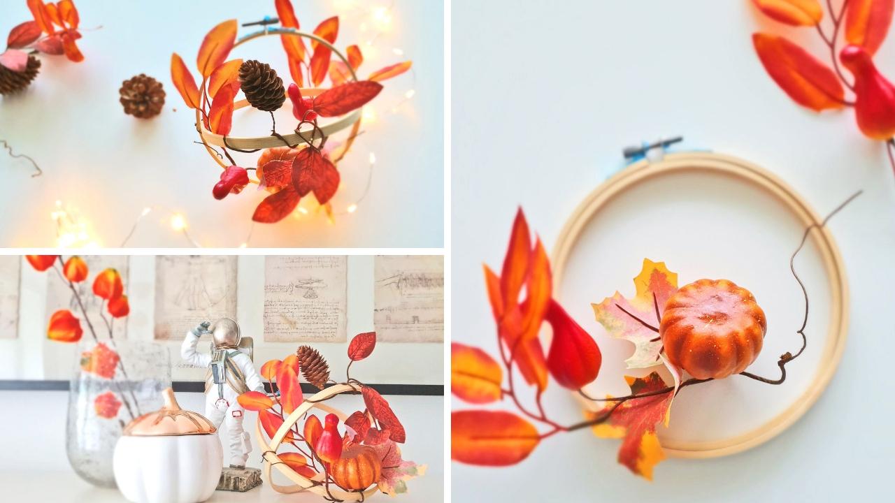 Sposób na prostą dekorację na jesień