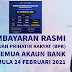 Pembayaran Rasmi BPR Bermula 24 Februari 2021
