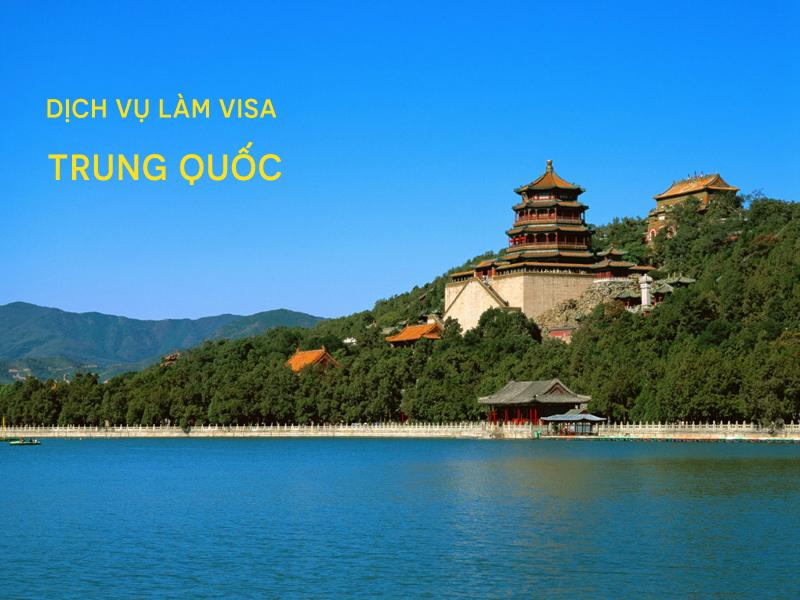 Làm visa đi Trung Quốc nhanh