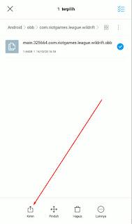 Cara Copy Dan Install LOL Wild Rift Dari HP Teman
