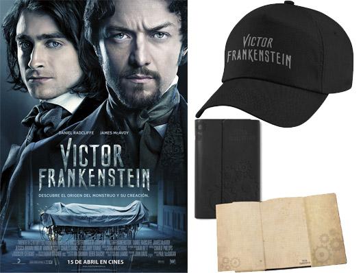 Concurso 'Victor Frankenstein': Tenemos lotes de merchandising de la película