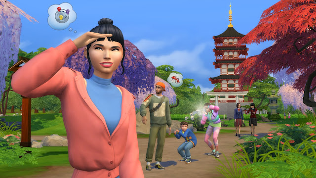 The Sims 4: Snowy Escape Expansion