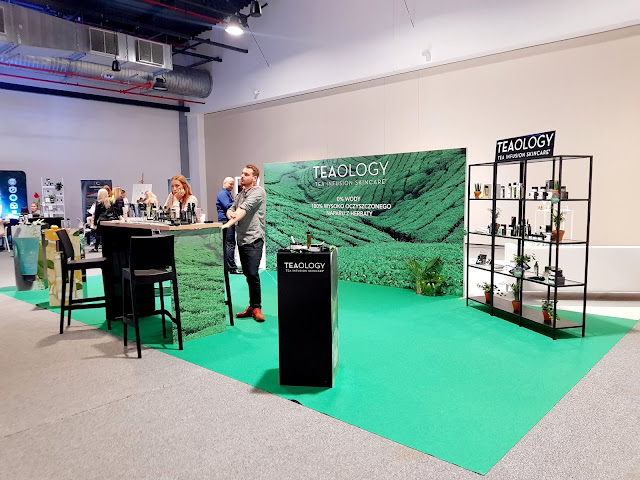 stoisko marki tealogy - konferencja