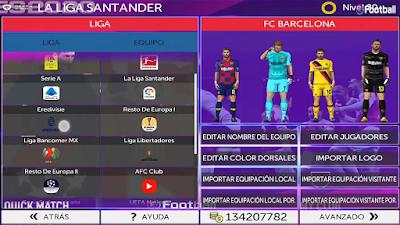 FTS Mod eFootball PES 2020 Season 2019/2020