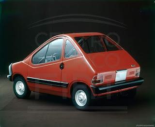 1972.Prototipo Fiat X 1/23 elettrica.