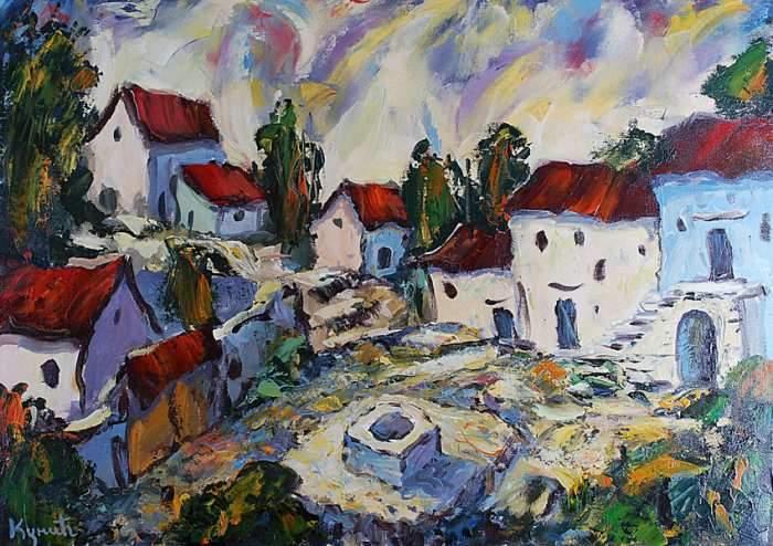 18 لوحة للرسام Dragan Kunic