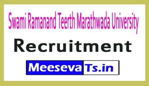 Swami Ramanand Teerth Marathwada University SRTMUN Recruitment