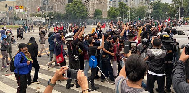 GMPN: Ada Kelompok Yang Manfaatkan Demo Tolak Omnibus Law