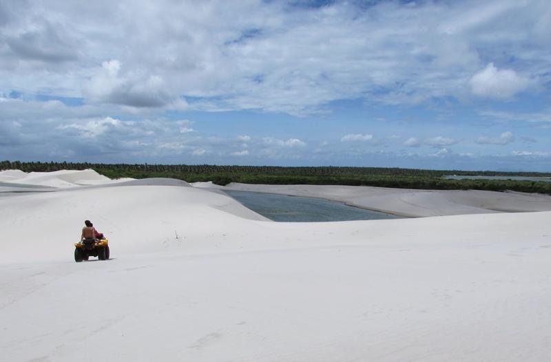 Dunas de Aranaú, Passeio a Barrinha - Jericoacoara