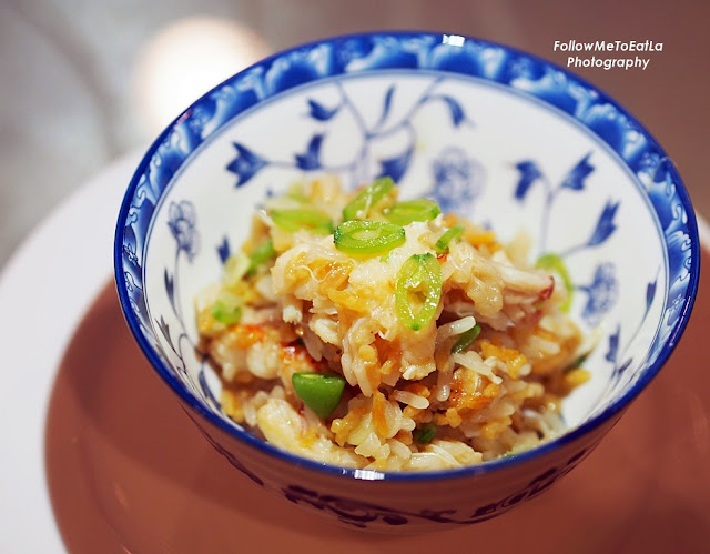 Yin Yang Rice With Lobster & Crab Meat in Superior Crab Soup