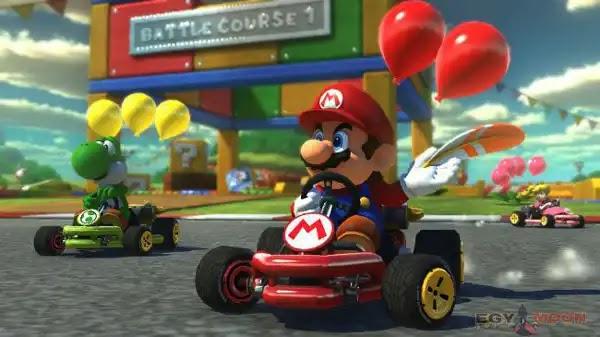 لعبة ماريو كارت باحدث اصدار وتعمل على الكمبيوتر والموبايل  Mario Kart for PC and mobile
