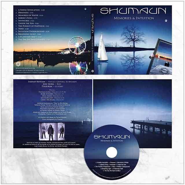 """Ο δίσκος των Shumaun """"Memories & Intuition"""""""