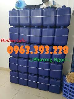Can nhựa vuông dày 20L, can nhựa HDPE 288161baf58313dd4a92