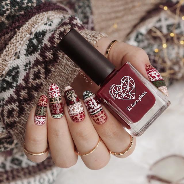 Sweterkowe paznokcie