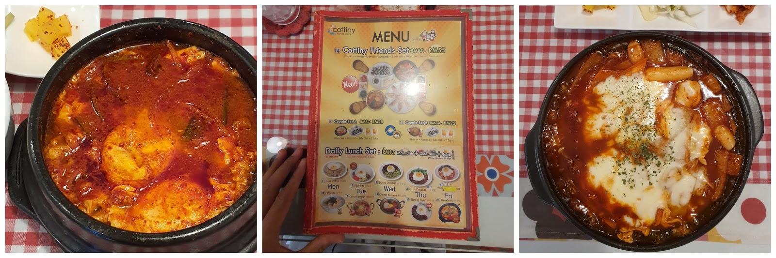 Cottiny Cafe : Restoran Makanan Korea di Sungai Petani!
