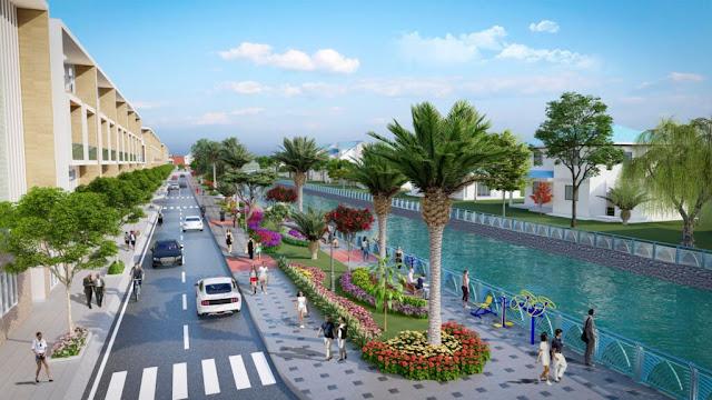 Dự án Aqua Melody (Bắc Cống Vong) - thích hợp đầu tư các mô hình kinh doanh ven sông