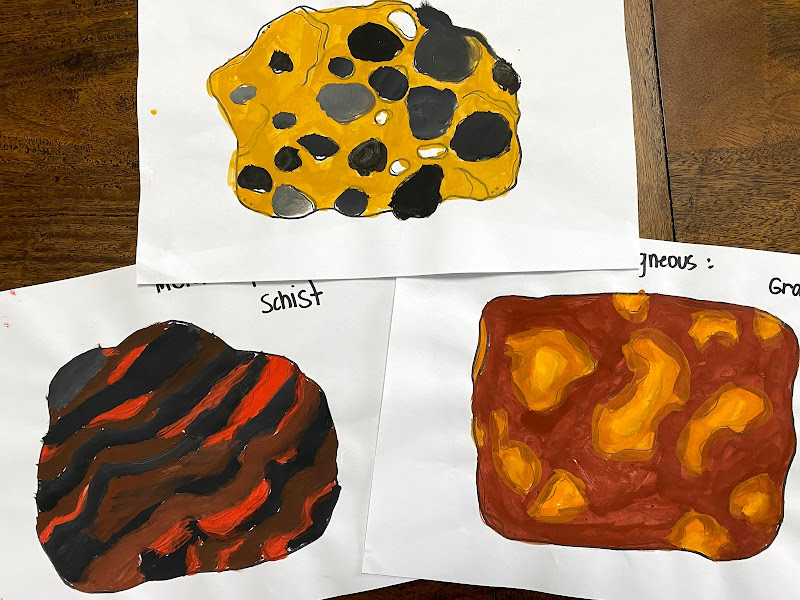 Rock Cycle Lesson for Kids: METAMORPHIC ROCKS