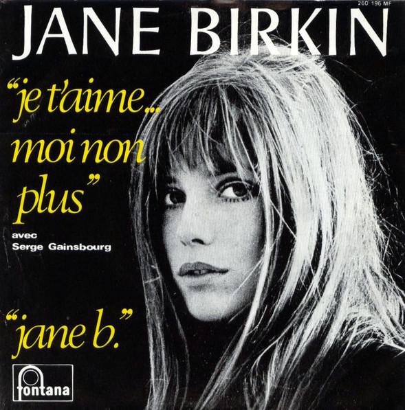Jane B Jane birkin Serge Gainsbourg