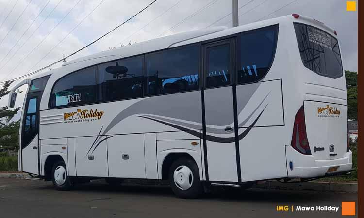 Sewa Bus Pariwisata Tarif Murah Bandung Pangandaran