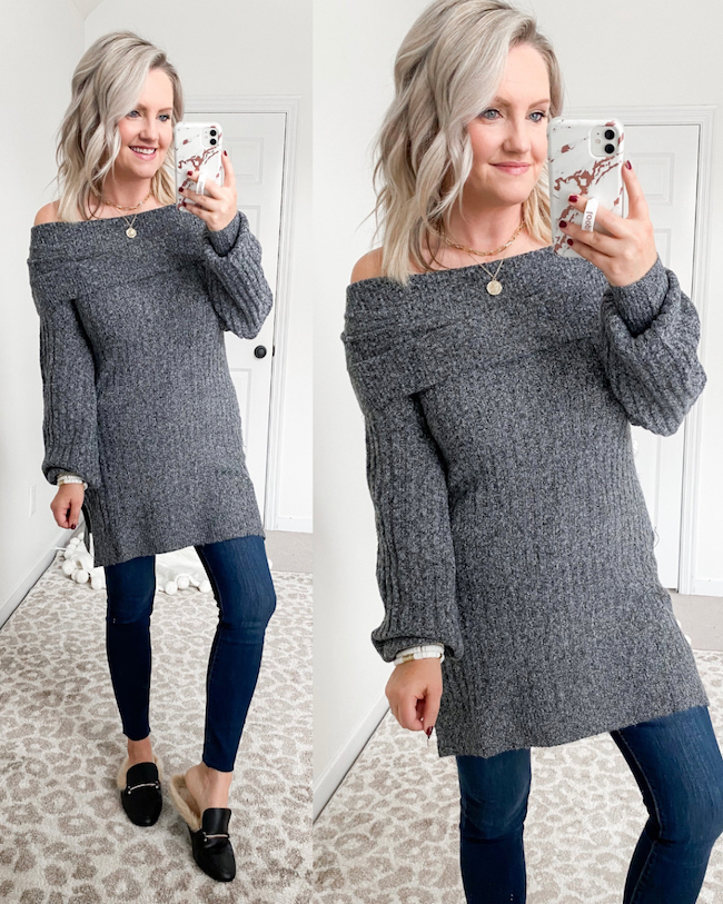 Sofia V sweater from Walmart