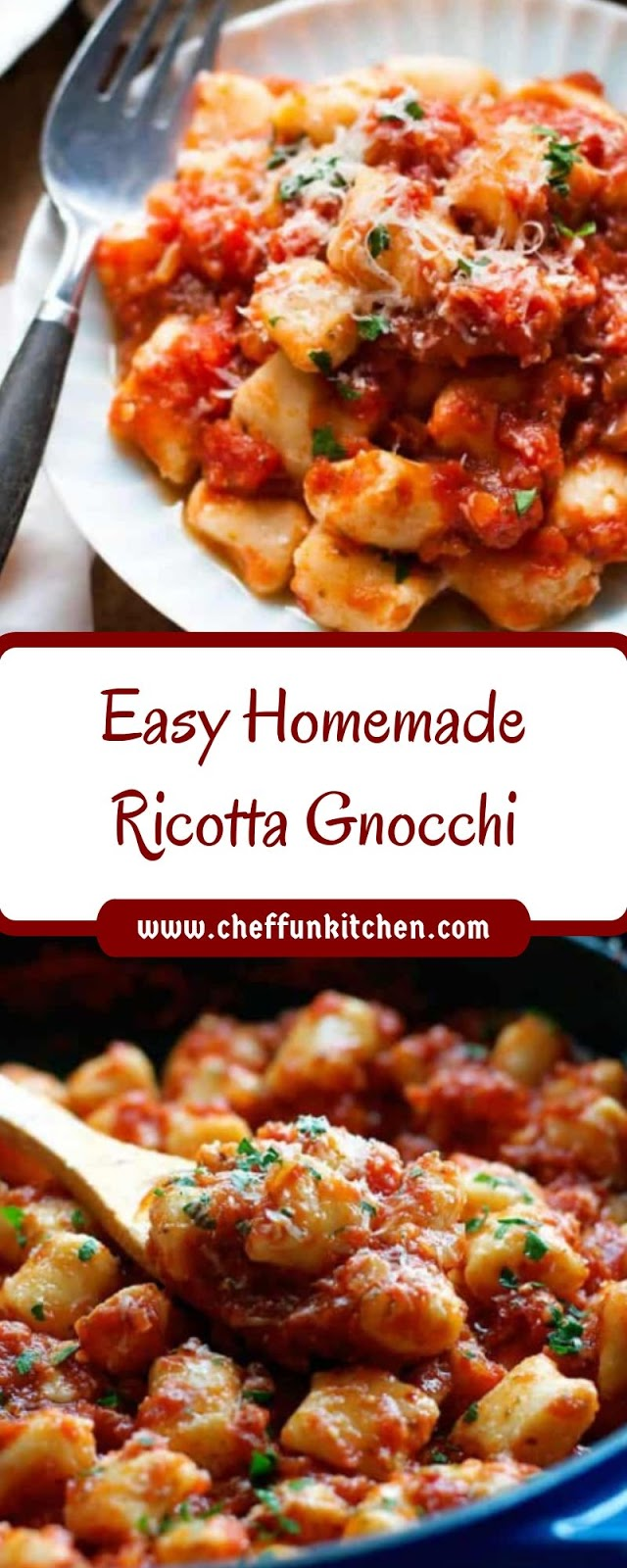 Easy Homemade Ricotta Gnocchi