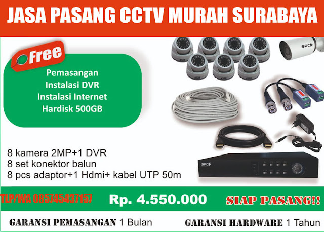 jasa pasang cctv murah surabaya no  1 - 085745437157