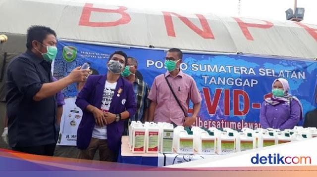 Hapuskan Biaya Perjalanan Dinas, Gubernur Sumsel Siapkan Dana Rp 100 M untuk Corona