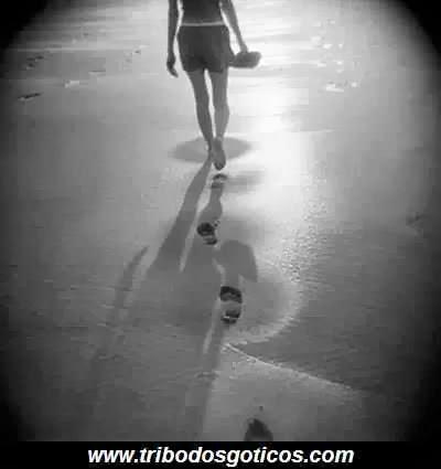 destino,andar,praia,atrás