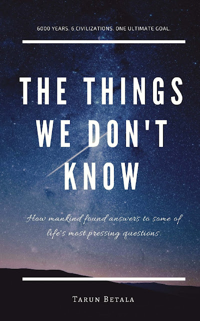 Book Review : The Things We Don't Know - Tarun Betala