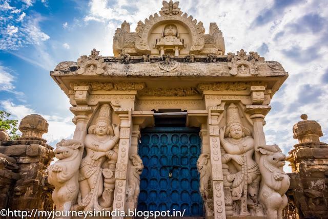 Kanchipuram Kailasanathar Temple Dwarapalaka