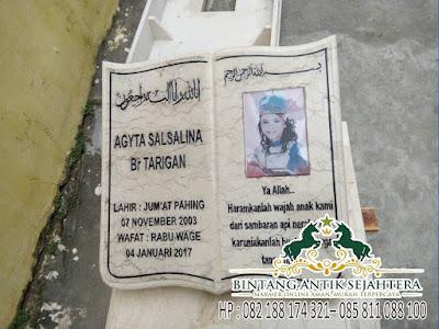 Harga Batu Nisan Kuburan Surabaya, Tulisan Batu Nisan Marmer, Batu Nisan Untuk Kuburan