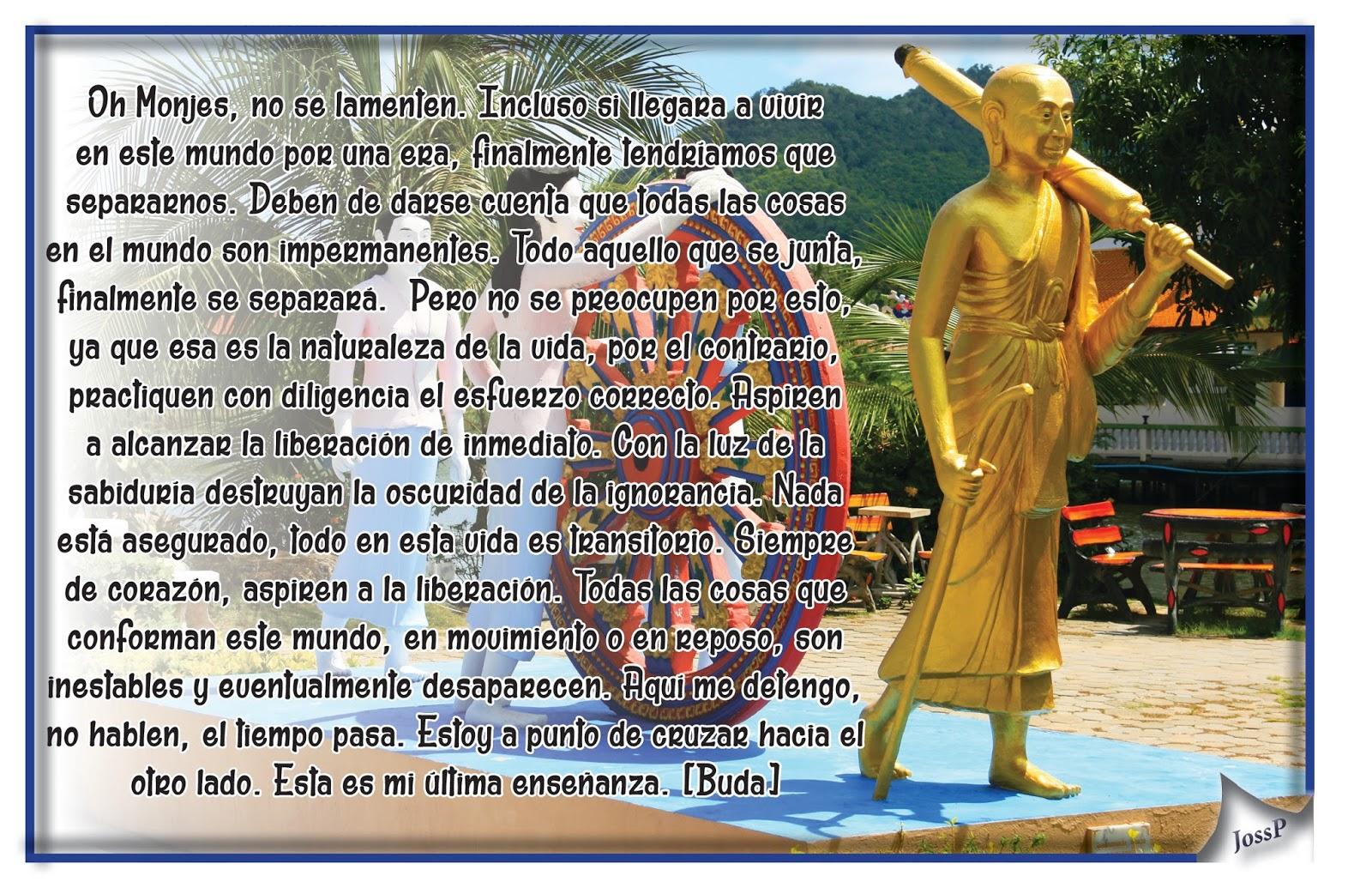 Resultado de imagen de Frase Buda y la Senda delMal
