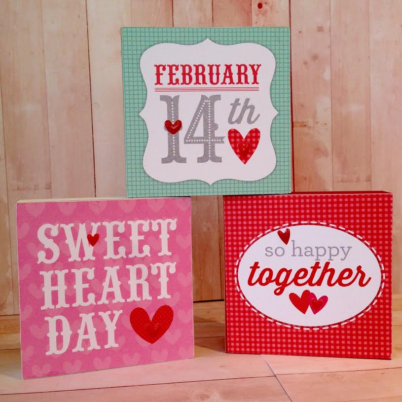 Go Airlink Valentine S Day Promotion Spread The Love: The Blog: Wood Blocks Make A Great