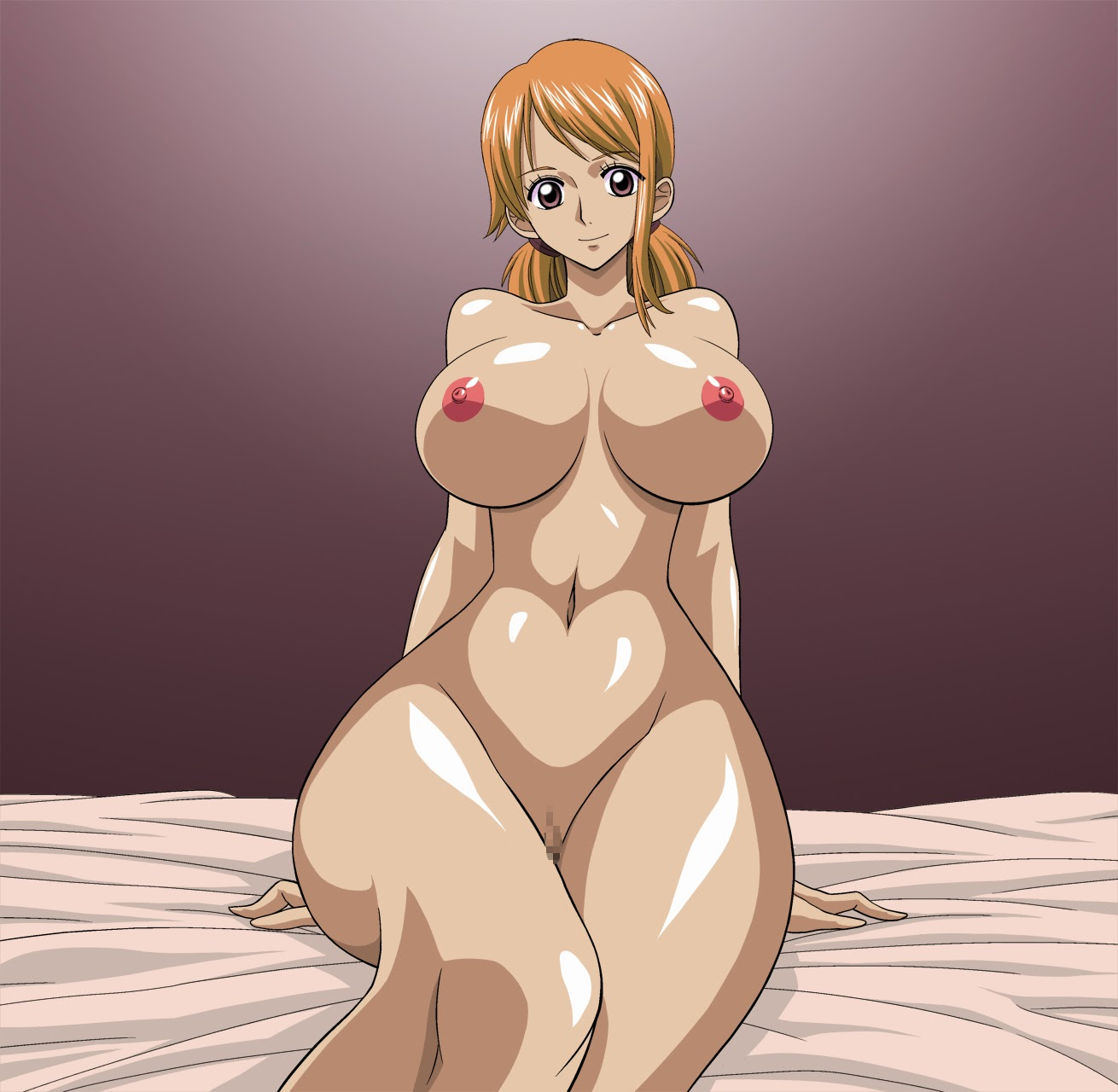 one piece nami wet