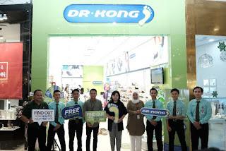 Hadirkan Solusi Kaki Sehat Dengan Gaya Stylish,  DR KONG Buka Toko Independent  Pertama Di Jakarta